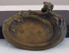 Beautiful Nude Lady Brass/Bronze Dish/Tray  JZ-0588