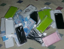 WHOLESALE LOT OF 25 CASES COVERS FOR APPLE iPHONE 5/5s