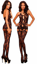 Romantic Lace Garter Mini Dress, Leg Avenue, 8-12, Sexy Lingerie, Slip, Body,