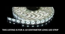 White 10cm 6 SMD LED Flexible Strip Light Car, Van,bike 12V custom lighting