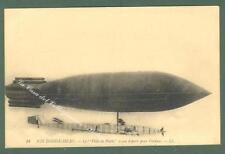 AVIAZIONE. Il dirigibile Ville de Paris. Cartolina d'epoca non viaggiata...