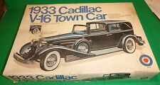 ENTEX 1933 CADILLAC V-16 TOWN CAR 1/16 MODEL CAR MOUNTAIN KIT