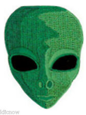 "ALIEN (GREEN) EMBROIDERED PATCH 4.5cm x 6cm (1 3/4"" x 2 1/4"")"