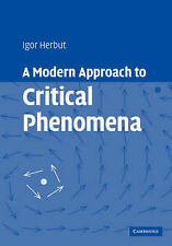 A Modern Approach to Critical Phenomena, Igor Herbut, Very Good