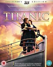 TITANIC 2 X BLU RAY 3D SET.SENT 1ST CLASS REC/DEL  SEALED AND IN SLIPCASE.COVER