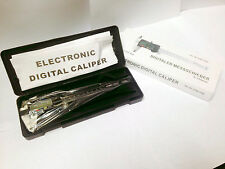 """6"""" INCH PROFESSIONAL QUALITY LCD DIGITAL CALIPER MICROMETER WITH BLACK SLIDE"""