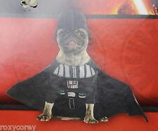 """Disney Star Wars Darth Vader Dog Costume Size Large 20"""" Chest 22"""" Neck to Tail"""