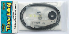 "Team Losi 1/10 XXX-S/XXX-4 Heavy-Duty (Long) Drive Belt Kit ""NEW"" LOSA3280"