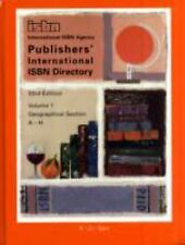 Publisher's International Isbn Directory 2006-2007 (Publishers' International Is