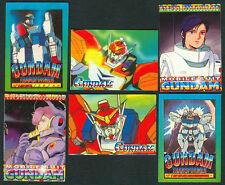 6 ANIME GUNDAM Philippine TEKS / Trading Cards