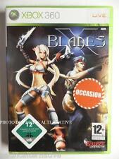 Occasion jeu X BLADES sur xbox 360 en francais combat fight ayumi spiel juego