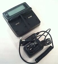 New Battery Charger Prospec,Twin Channel,LCD Display,Dual Bay Charger,USB Output