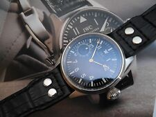 1923 ANTIQUE PILOT IWC INTERNATIONAL CAL 73 SWISS MADE 44mm CASE SAPPHIRE GLASS