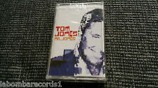 ZZ- CASSETTE TOM JONES - MR. JONES - SEALED - NEW - SONY - WYCLEAF JEAN - 2002