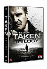 Taken Trilogy Unrated (EU Region 2 Nordic Import) DVD