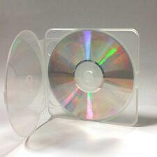 200 Río Alta Calidad clara snaptek Estuche Para Cd / Dvd / Blu Ray Disc