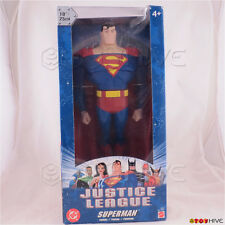 Justice League Unlimited Superman 10 inch 25cm figure DC Super Heroes dent worn