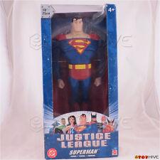 Justice League Unlimited Superman 10 inch 25cm figure DC Super Heroes dent worn