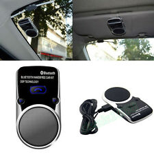 Solar Powered Bluetooth Vehicle Speakerphone Car Kit Handsfree Speaker For Phone