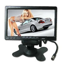 "7"" TFT LCD Digital Color Screen Car Backup Rear View Camera DVD GPS TV Monitor"