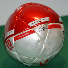 vintage diadora AS ROMA match ball JANUS TOTTI signed serie A 2004 gara mini