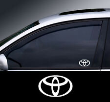 2 x Toyota Logo Window Decal Sticker Graphic *Colour Choice*(2)