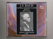 (CD) Bach : The Well-Tempered Clavier, Book 2 /2CDs /Tatiana Nikolayeva / [MK]