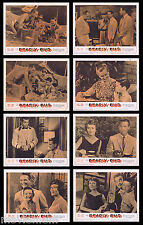 DEADLY DUO Vintage Lobby Card set Craig Hill Evil Sister Film Noir Crime
