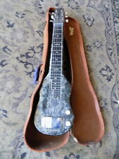 1950s Magnatone Lap Steel electric guitar GRAY PEARLOID FINISH vintage USA