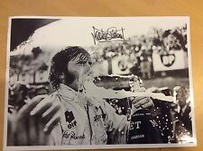 Jackie Stewart F1 hand signed autograph photograph
