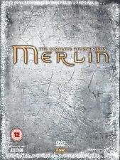 MERLIN Series 4 + BONUS FEATURES Complete BBC Seasons DVD Brand New Sealed