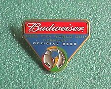 Budweiser Beer 2006 FIFA World Cup Germany Collector Pin Brooch or Tie Tac