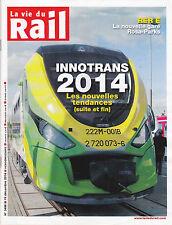 LA VIE DU RAIL N° 3498 19 DECEMBRE 2014 - INNOVATIONS 2014 - RER E - REVUE