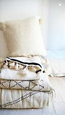 Set Of  Beautiful Moroccan Wool Pillow Covers Anthropologie/ Urban Outfitters