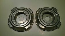 2 x FOUR OUTLET TANAKA STYLE ALLOY HEAD FOR STRAIGHT SHAFT BRUSHCUTTERS