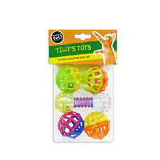 """Tilly's Toys"" 5 Piece Assorted Play Set for Cat & Kitten by World of Pets"