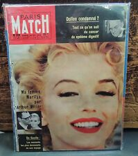 RARE Paris Match Magazine MARILYN MONROE Cover 1959 French Complete Mag