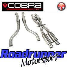 Cobra Sport M3 E92 Exhaust De Cat Section & Front Pipes Stainless Steel BM63