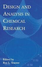 Design and Analysis in Chemical Research (Sheffield Analytical Chemist-ExLibrary