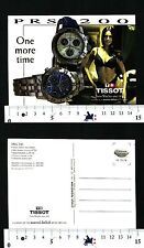 CARTOLINA PUBBLICITARIA - TISSOT PRS 200 - ONE MORE TIME -56535