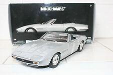 1:18 Minichamps Maserati Ghibli Spyder Silver 1970 NEW