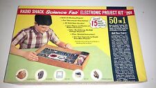 Radio Shack Science Fair Electronic Project Kit #201 50 in 1 Vintage