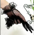 NEW 2015 Lace Elegant Ladies Bridal Short Gloves Wedding/Party White/Black/Red