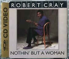 Robert Cray   CD-VIDEO   NOTHIN' BUT A WOMAN  © UK 1988 - PAL 080 228-2