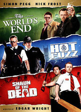 The World's End/Hot Fuzz/Shaun of the Dead (DVD, 2013, 3-Disc Set)
