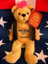 HRC Hard Rock Cafe Munich München Punk Bear Mohawk 2011 Pink Hair Herrington