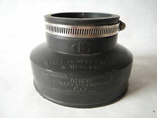 "Indiana Seal Coupler 4"" C.I./ PL to 2"" C.I. / PL Missing One Clamp"