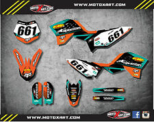 KTM 65 2009 - 2015 Full Custom Graphics Kit VITAL Style stickers decals graphic