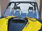 "CAN-AM MAVERICK HALF SCRATCH RESISTANT WINDSHIELD 13"" TALL - FREE SHIPPING!"