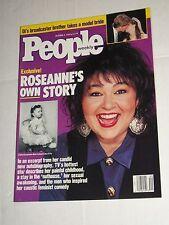 Vintage PEOPLE WEEKLY Magazine October 1989 #14 Roseanne Barr